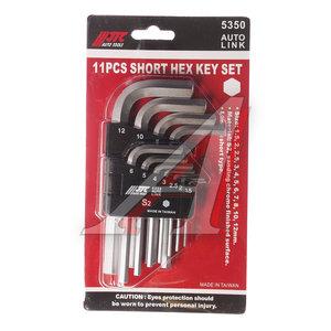 Набор ключей шестигранных 1.5-12мм Г-образных 11 предметов JTC JTC-5350