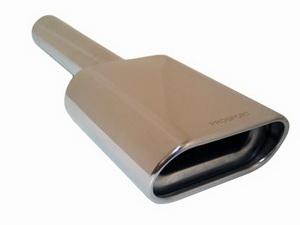 Насадка на глушитель вход. d=58, вых. d=165 (L=480мм) PRO SPORT RS-01624