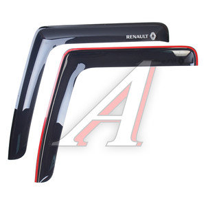 Дефлектор двери RENAULT Premium длинный комплект 2шт. АВТОТОРГ АТ-2905,