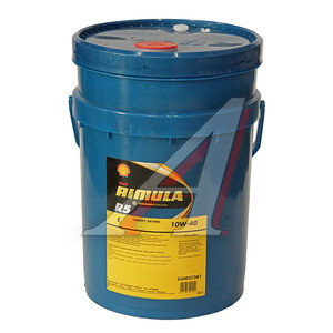 Масло дизельное RIMULA R5E (SUPER FE) п/синт.20л SHELL SHELL SAE10W40, 85979