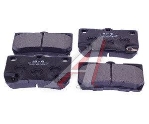 Колодки тормозные LEXUS GS300,GS430,GS450H задние (4шт.) SANGSIN SP2083, GDB3399