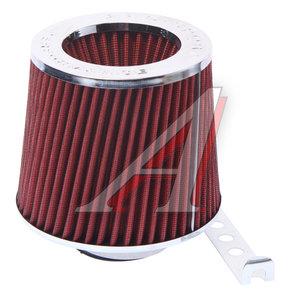 Фильтр воздушный PRO SPORT TORNADO красный хром широкий d=70 RS-00126