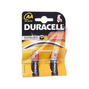 Батарейка AA LR6 1.5V Alkaline (по 1шт.) DURACELL D-LR6N, D-LR6Nбл
