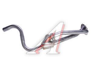 Труба приемная глушителя ГАЗ-3110 дв.ЗМЗ-406 Баксан с прорезью 3110-1203010