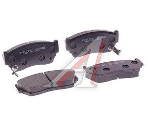 Колодки тормозные NISSAN Sunny (90-95) передние (4шт.) HSB HP5067, 41060-60Y94