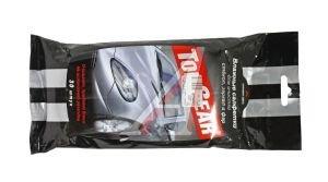 Салфетка влажная для стекол 20х16см в мягкой упаковке 30шт. TOP GEAR TOP GEAR 48038, TG-48038