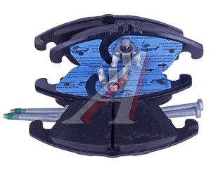 Колодки тормозные MERCEDES C (W204) передние (4шт.) TRW GDB1737, A0054201020