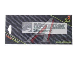 "Наклейка металлическая ""Monster sport"" 22х80мм MASHINOCOM PKTA 50"