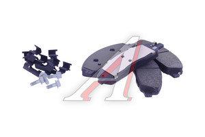 Колодки тормозные ГАЗель Next передние (4шт.) (MANDO) (ОАО ГАЗ) A21R23.3501171, А21R23.3501171