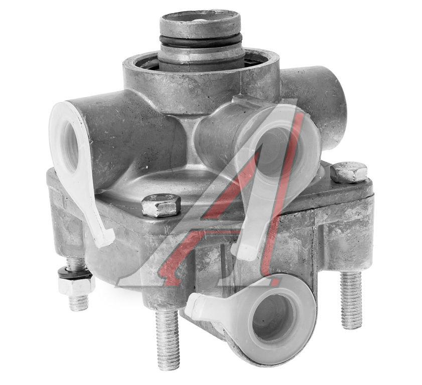 Клапан ЗИЛ,КАМАЗ,МАЗ ускорительный с креплением под шумоглушитель РААЗ 100-3518010-10