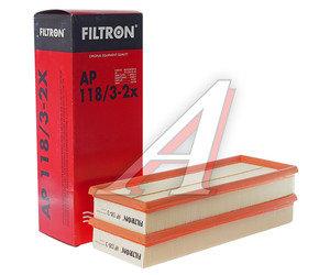 Фильтр воздушный FILTRON AP118/3-2X, LX804/S