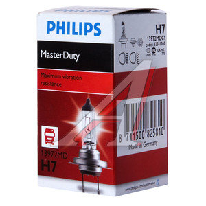 Лампа 24V H7 70W PX26d Heavy Duty PHILIPS 13972MDC1, P-13972MD, 24V70W Н7