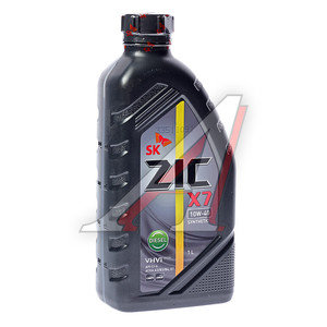 Масло дизельное X7(5000) синт.1л ZIC ZIC SAE10W40, 132607