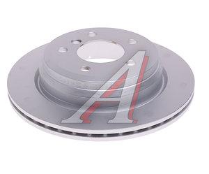Диск тормозной BMW 1 (E81,E87,F20),3 (E90,F30) задний (1шт.) OE 34216864901, DF4802, 34216864901/34216855008