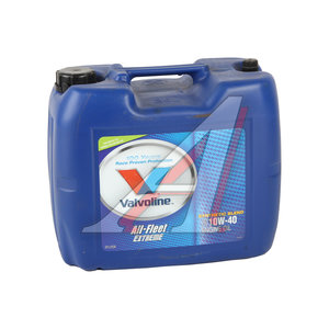 Масло моторное ALL FLEET EXTREME п/синт.20л VALVOLINE SAE10W40, VE13766