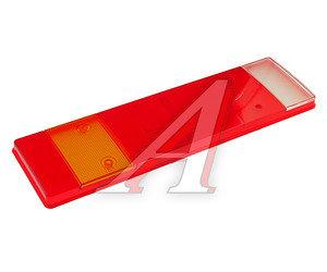 Рассеиватель DAF MAN SCANIA IVECO фонаря заднего левого/правого (467х132мм) АВТОТОРГ АТ-1857, 0030C/067500/9EL152889001/067000/089104, 93161844/99463242/99463244