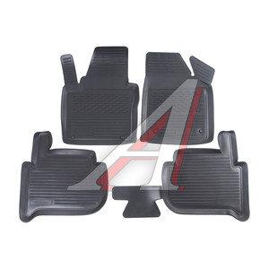 Коврик салона VW Touran (03-) полиуретан 4шт. ПП PPL-10743120,