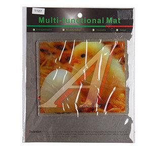 Коврик на панель приборов универсальный противоскользящий 180х150 с рисунком цыпленок ART1127