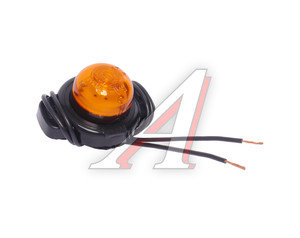 Фонарь габаритный и контурный 12/24V (шайба, светодиод) оранжевый ЕВРОСВЕТ ГФ3.18LED
