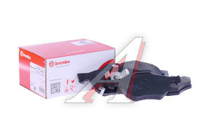 Колодки тормозные HONDA Accord (03-) передние (4шт.) BREMBO P28036, GDB3355, 45022SEAE01, 45022SEAEZ1