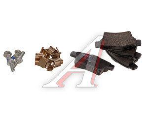 Колодки тормозные CITROEN C4 Picasso (06-) задние (4шт.) TRW GDB1692, 425432/425371