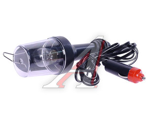 Лампа переносная 12V/8W со штекером в прикуриватель MEGA HIT IL-313B,
