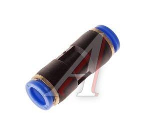 Соединитель трубки ПВХ,полиамид d=8мм прямой PUC08, АТ-333/АТ10334