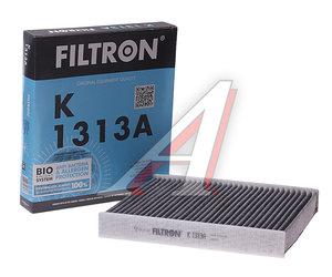 Фильтр воздушный салона VW Polo (10-) AUDI A1 SKODA Fabia,Rapid угольный FILTRON K1313A, LAK809, 6R0819653/6R0820367