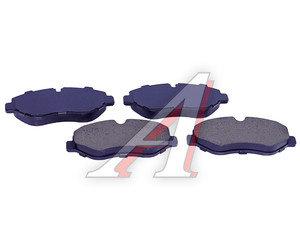Колодки тормозные MERCEDES Sprinter (906),Vito (W639) передние (4шт.) SANGSIN SP1622, GDB1698,