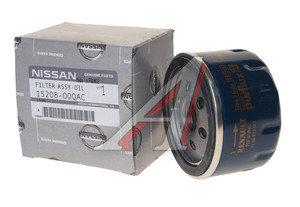Фильтр масляный NISSAN Terrano (D10) (14-) (1.6/2.0) OE 15208-00QAC, OC467, 15208-00QAC/15208-00Q0H
