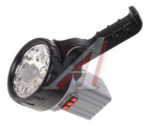 Фонарь-прожектор аккумуляторный 9 светодиодов, галогеновая лампа, люминесцентная лампа 6V 2,5Ah ЭРА FA55M, ER-FA55M