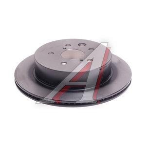 Диск тормозной TOYOTA Crown (09-) задний (1шт.) TRW DF6063, 42431-30290