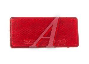 Катафот прямоугольный на липучке (красный) АВТОТОРГ 340501 к