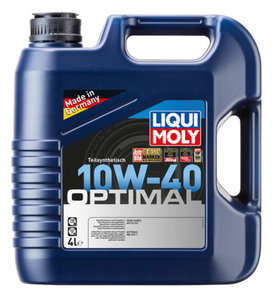 Масло моторное OPTIMAL п/синт.4л LIQUI MOLY LM SAE10W40 3930/акция2287, 84162