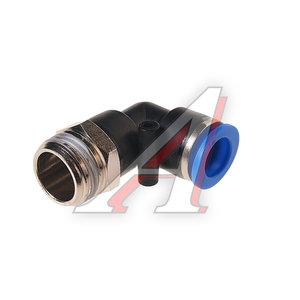"""Фитинг для пластиковых трубок 1/2"""" угловой 12мм с наружной резьбой ROCK FORCE RF-SPL12-04"""
