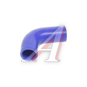 Патрубок ГАЗ-3302 радиатора подводящий синий силикон 21-1303010