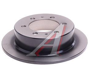 Диск тормозной SSANGYONG Rexton (02-) задний (1шт.) TRW DF4133, 4840105101