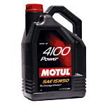 Масло моторное 4100 POWER п/синт.4л MOTUL MOTUL SAE15W50, 100271