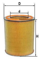Элемент фильтрующий ЯМЗ воздушный (бумага) DIFA 8421-1109080 УИ, 4302МЛ, 8421.1109080
