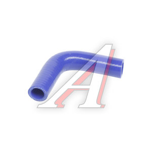 Патрубок ГАЗ-3302 ЕВРО-3 отопителя синий силикон 3302-8120034-20