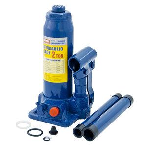 Домкрат бутылочный 2т 181-345мм с клапаном MEGAPOWER M-90204