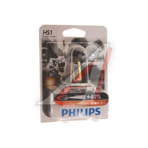 Лампа 12V HS1 35/35W +40% PX43t блистер (1шт.) City Vision Moto PHILIPS 12636, P-12636CTVBWбл