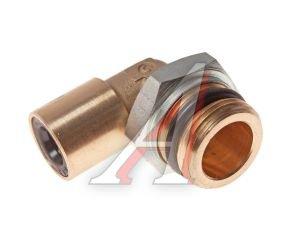 Соединитель трубки ПВХ,полиамид d=10мм (наружная резьба) М22х1.5 угольник латунь CAMOZZI 9502 10-M22X1.5, 893 830 441 2