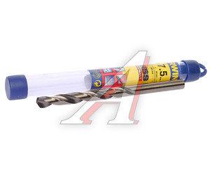 Сверло по металлу 7.5х109мм HSS Cobalt IRWIN 10502560