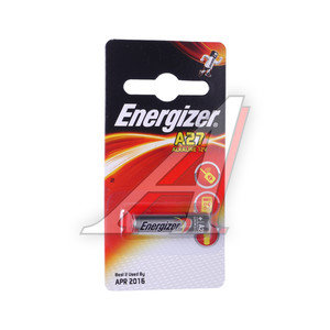 Батарейка A27 MN27 12V Alkaline (пульт сигнализации) блистер (1шт.) ENERGIZER EN-E27Aбл