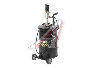 Насос бочковый пневматический 2-10атм.,1.1кг/мин с емкостью 50кг для раздачи смазки, передв. PROLUBE PROLUBE PL-45437, PL-45437