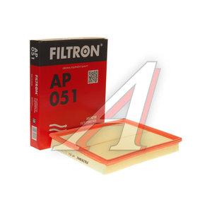 Фильтр воздушный OPEL Astra G,H,Zafira A,B FILTRON AP051, LX735, 5834282