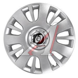 Колпак колеса R-16 серый комплект 4шт. OPEL 407 Opel R-16, 407