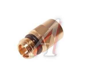 Соединитель трубки ПВХ,полиамид d=6мм (наружная резьба) М12х1.5 прямой латунь CAMOZZI 9512 6-M12X1.5, 893 803 022 0