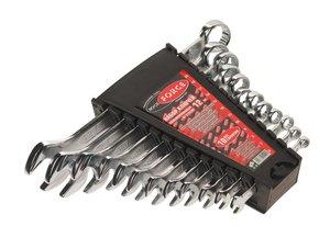 Набор ключей комбинированных 6-22мм 12 предметов ROCK FORCE RF-5122MP